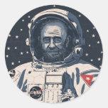 Castronaut Sticker
