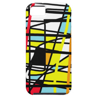 Casual abstraction iPhone SE/5/5s case