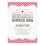 Casual BBQ Rehearsal Dinner Invitations