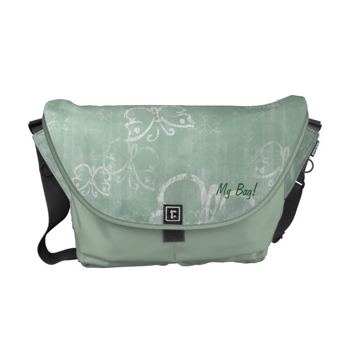 Casual Butterflies Courier Bag