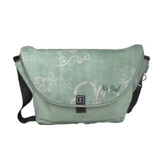 Casual Butterflies Courier Bags
