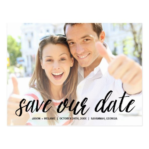 casual dating save the date