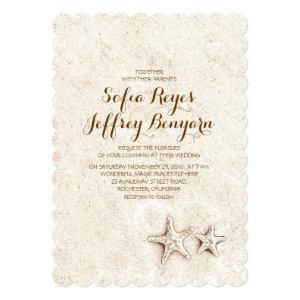 Casual elegant beach wedding invitations 5