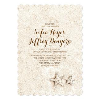 Casual elegant beach wedding invitations invitations