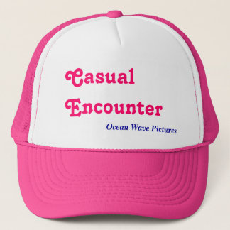 Casual Encounter, Ocean Wave Pictures Trucker Hat