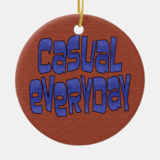 casual everyday ceramic ornament