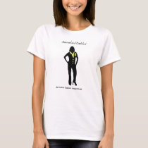 Casual Female Sarcoma Professional T-Shirt