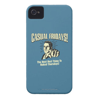 Casual Fridays: Naked Thursdays Case-Mate iPhone 4 Cases