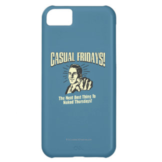 Casual Fridays: Naked Thursdays iPhone 5C Cover