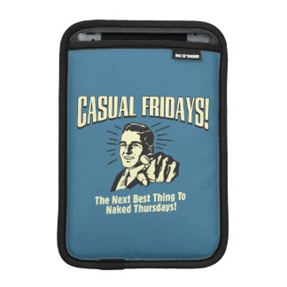Casual Fridays: Naked Thursdays iPad Mini Sleeves