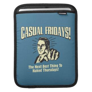 Casual Fridays: Naked Thursdays iPad Sleeves