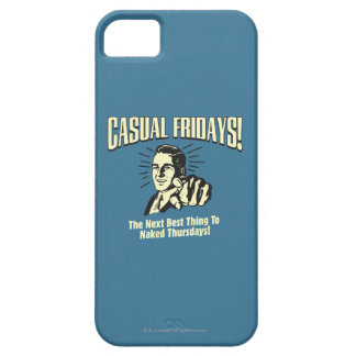 Casual Fridays: Naked Thursdays iPhone 5 Cover