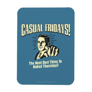 Casual Fridays: Naked Thursdays Vinyl Magnets