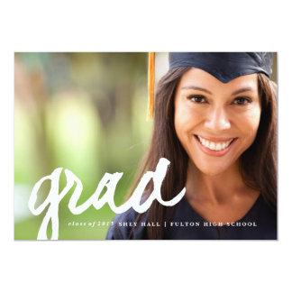 Casual grad script | Graduation Announcement