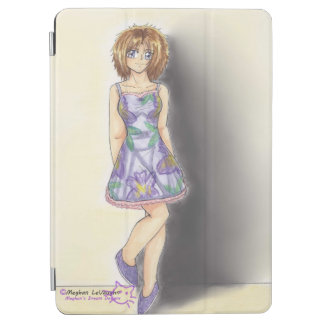 Casual Iris Flower Fashion Ayame iPad Air cover