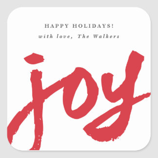 Holiday Tag Stickers | Zazzle