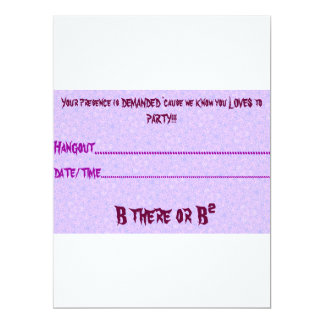 Casual Party Invitation Cards