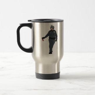 Casual Pepper Spray Cop in Color Mugs