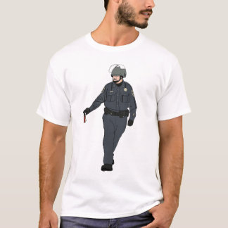 Casual Pepper Spray Cop in Color T-Shirt