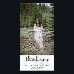 """Casual Simple Graduate Thank You Card<br><div class=""""desc"""">Casual Simple Graduate Thank You</div>"""