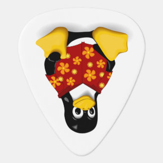 Casual Tux Guitar Pick - Single Sided