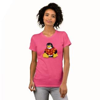 Casual Tux Women's Jersey T-Shirt