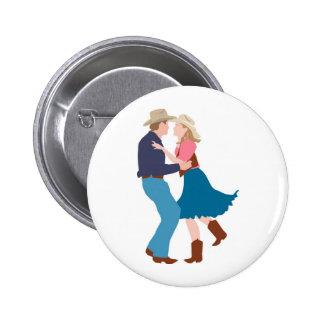 Casual Western Wedding Reception Button