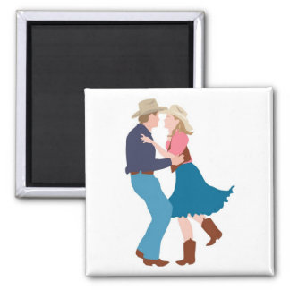 Casual Western Wedding Reception Magnet