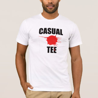 CASUALTY Mens Design T-shirt Funny