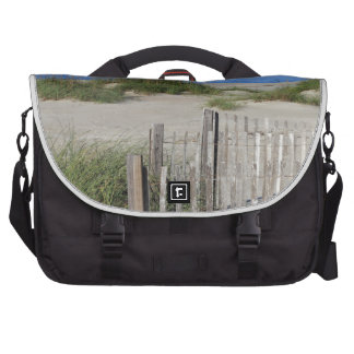 Caswell Beach, NC Land and Seascape Bag For Laptop