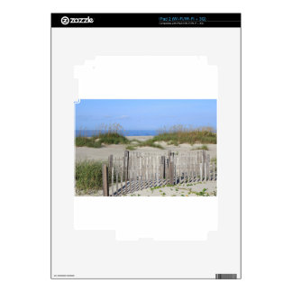 Caswell Beach, NC Land and Seascape Decals For iPad 2