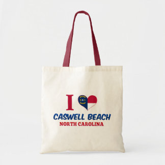 Caswell Beach North Carolina Tote Bags