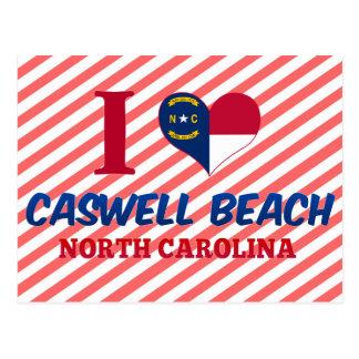 Caswell Beach, North Carolina Postcard