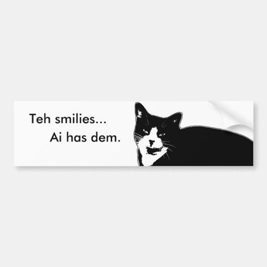 Cat2 Bumper Sticker