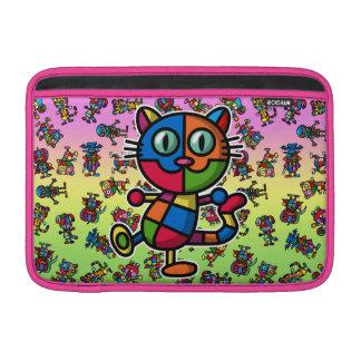 cat2 colorido fundas para macbook air