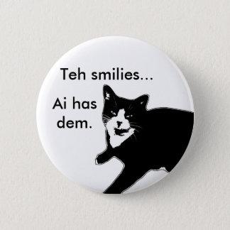 Cat2 Pinback Button
