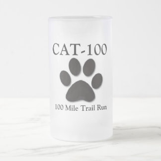 CAT-100 Beer Glass Frosted Glass Beer Mug