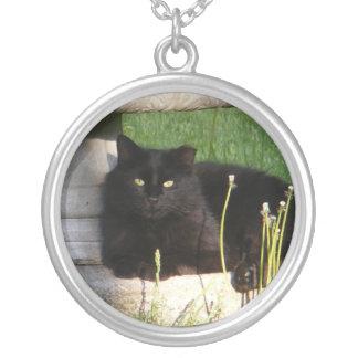 Cat 120 necklace