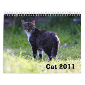 Cat 2011 calendar