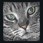 """Cat_2015_0503 Bandana<br><div class=""""desc"""">Graphic portrait of a lovely cat... </div>"""