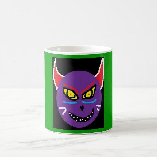 cat (2) mugs