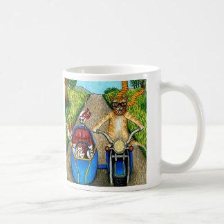 Cat 384 coffee mug