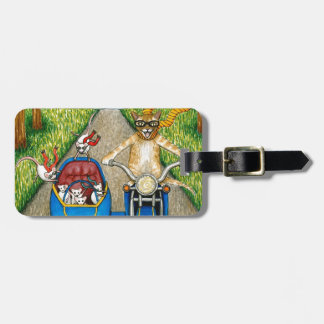 Cat 384 tag for luggage