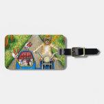 Cat 384 travel bag tag