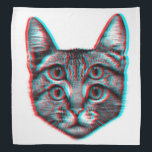 "Cat 3d,3d cat,black and white cat bandana<br><div class=""desc"">cat,  pet,  &quot;cute cats&quot;,  &quot;crazy cat&quot;,  feline, &quot; pet cat&quot;,  &quot;cat kitten&quot;,  &quot;cat lovers&quot;, cateye, &quot; funny cats&quot;</div>"