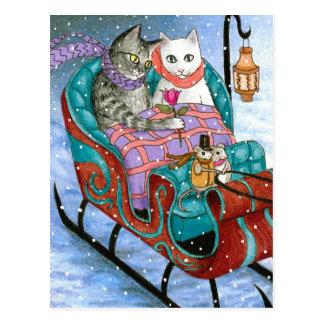 cat 436 postcard