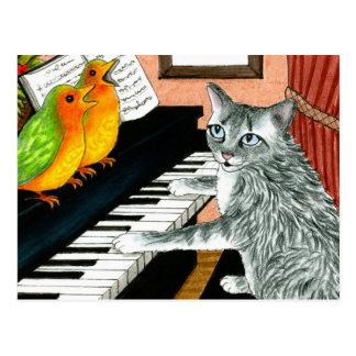 cat 457 Postcard