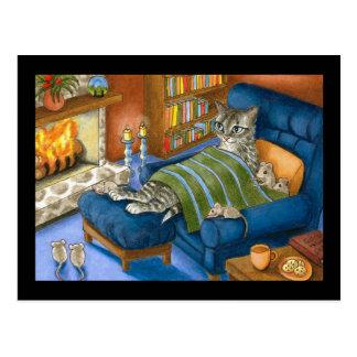 cat 459 PostCard
