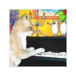 cat 506 canvas print