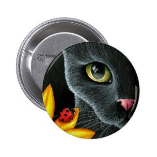 Cat 510 pinback button